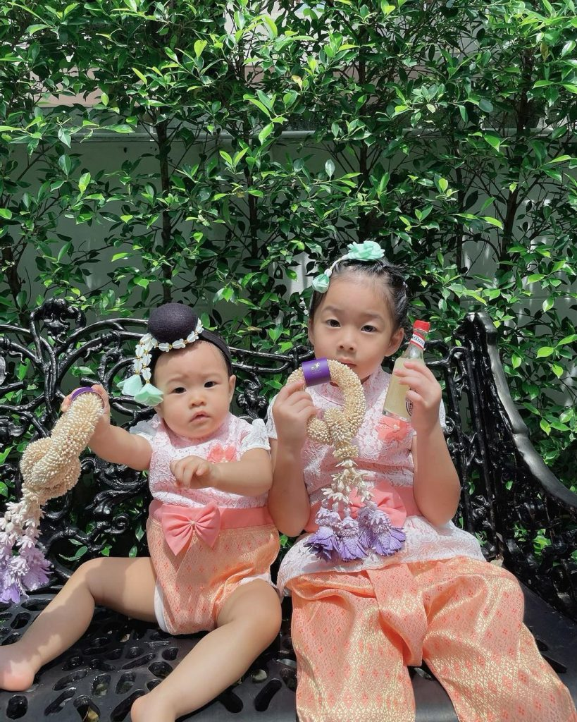 เป่าเปาและน้องเป่าเป้ยของ แม่กุ๊บกิ๊บ